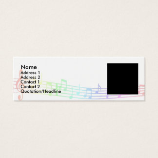 Musical Mini Business Card
