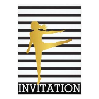Musical Modern Dancer Piruette Vip Invitation
