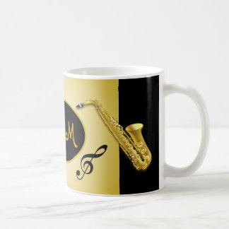 Musical Mom Saxophone Instrument Coffee Mug