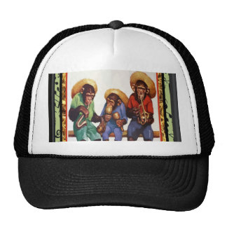 Musical Monkeys Cap