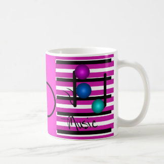 Musical Music Musicians Instruments Singers Coffee Mug