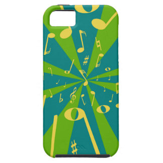Musical Noise Background iPhone 5 Covers