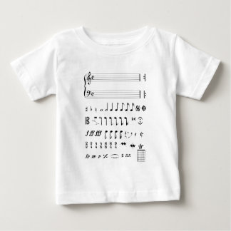 Musical Notation Baby T-Shirt