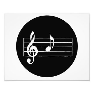 Musical Note A Art Photo