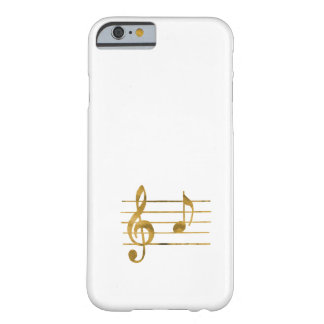Musical Note A Barely There iPhone 6 Case