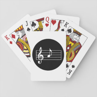 Musical Note A Playing Cards