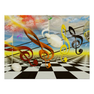 Musical Note by Lenny limited Edition print