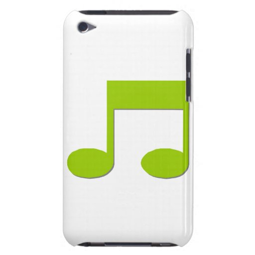 Musical Note Barely There iPod Covers