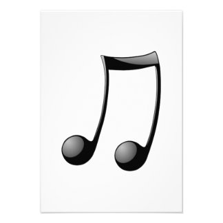Musical Note Personalized Announcement