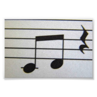 Musical Note Poster