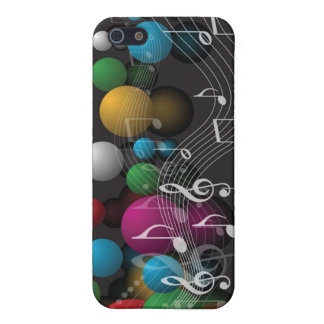 Musical Notes and Balloons iPhone 5 Cover