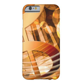 Musical Notes Barely There iPhone 6 Case
