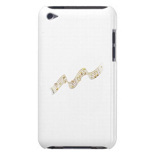 Musical Notes Barely There iPod Cover