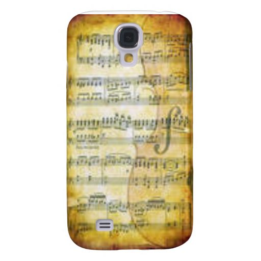 Musical Notes Samsung Galaxy S4 Cover