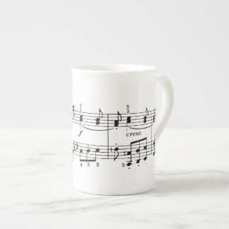 Musical Notes China Mug