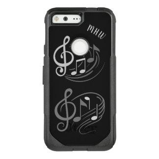 Musical Notes custom monogram phone cases