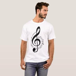 Musical Notes Illustration T-Shirt