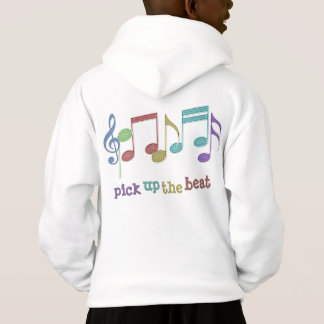 Musical Notes Linear Multicolor PICK UP THE BEAT