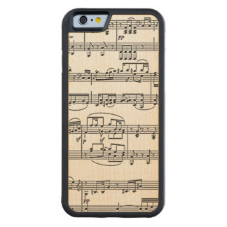 musical notes maple iPhone 6 bumper case