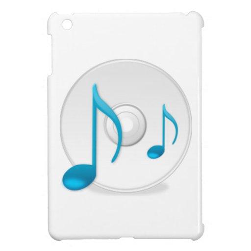Musical Notes on CD iPad Mini Case