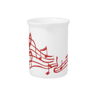 musical notes pitcher