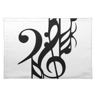Musical_notes Placemat