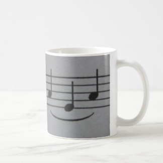 Musical Notes Smile Mug