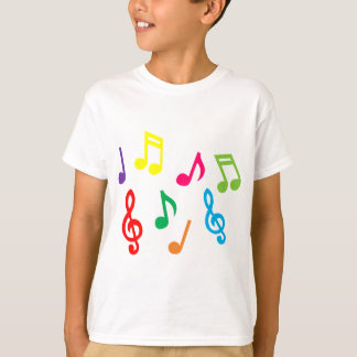 Musical notes tshirt