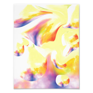 Musical Pastels in Motion Photo Print