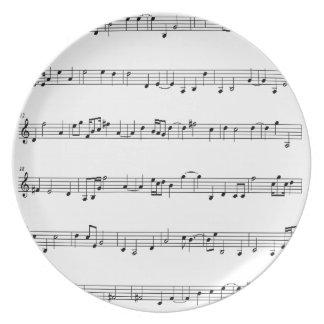Musical Plate