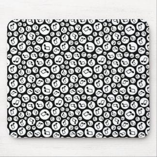 Musical Polka Dots Mouse Pad