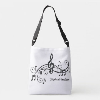 Musical Religious Tote Customise With Name