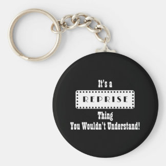 Musical Reprise Keychain