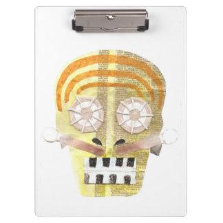 Musical Skull Clipboard