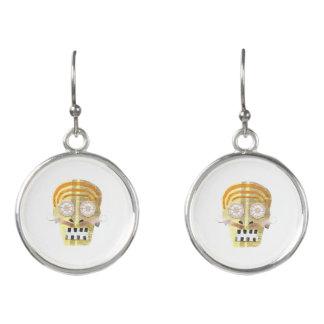 Musical Skull Earrings
