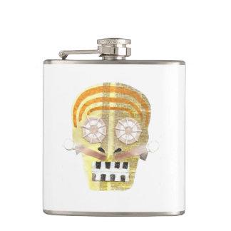 Musical Skull Flask