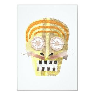 Musical Skull Invitation