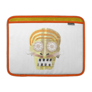 Musical Skull Macbook Air Sleeve
