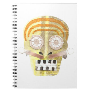 Musical Skull Notebook