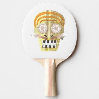 Musical Skull Ping Pong Bat Ping Pong Paddle