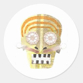 Musical Skull Stickers