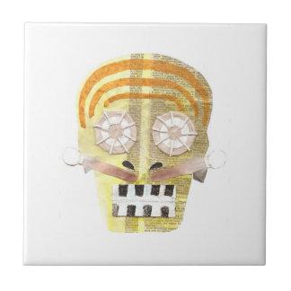 Musical Skull Tile