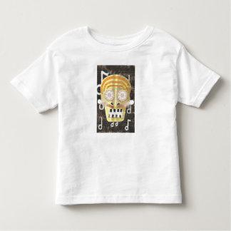 Musical Skull Toddler T-Shirt