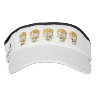 Musical Skull Visor Hat