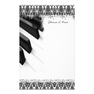 Musical Stationary Personalized Stationery