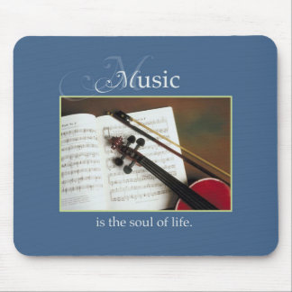 Musical Strings, The Soul of Life, Traditional Mouse Pad