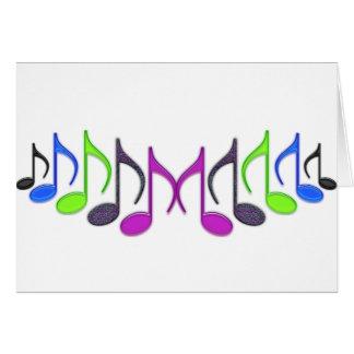"""Musical Symbol """"M"""" Greeting Card"""