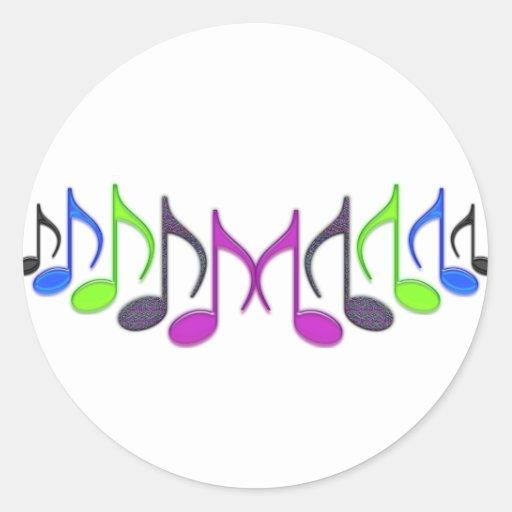 "Musical Symbol ""M"" Sticker"