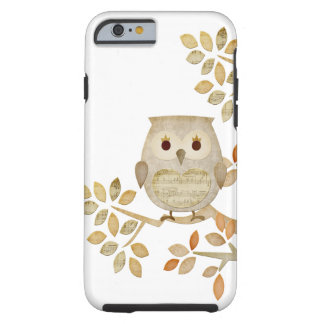 Musical Tree Owl Tough iPhone 6 Case