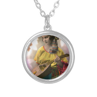 Musical Vintage Gypsy in Vibrant Color Custom Jewelry